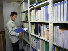 日本測地設計株式会社,職場のワンシーン。
